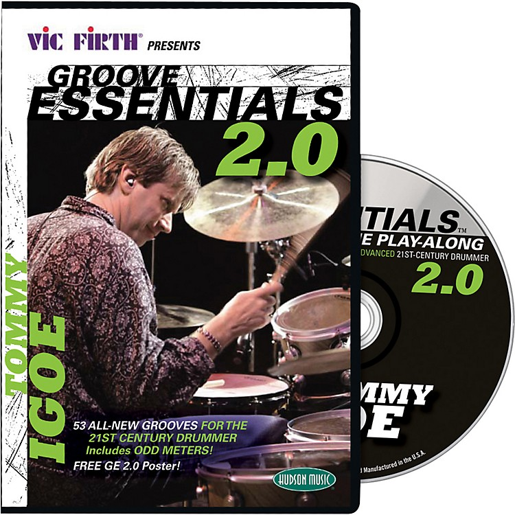 Hudson Music Tommy Igoe Groove Essentials 2.0 DVD