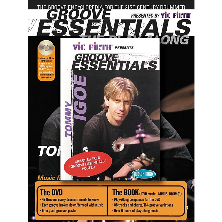 Hudson Music Tommy Igoe Groove Essentials (Book/CD/DVD Combo Pack)