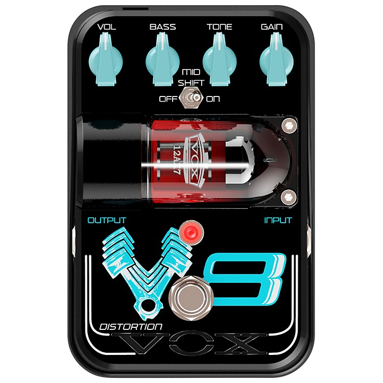 Vox Tone Garage V8 Distortion Guitar Effects Pedal