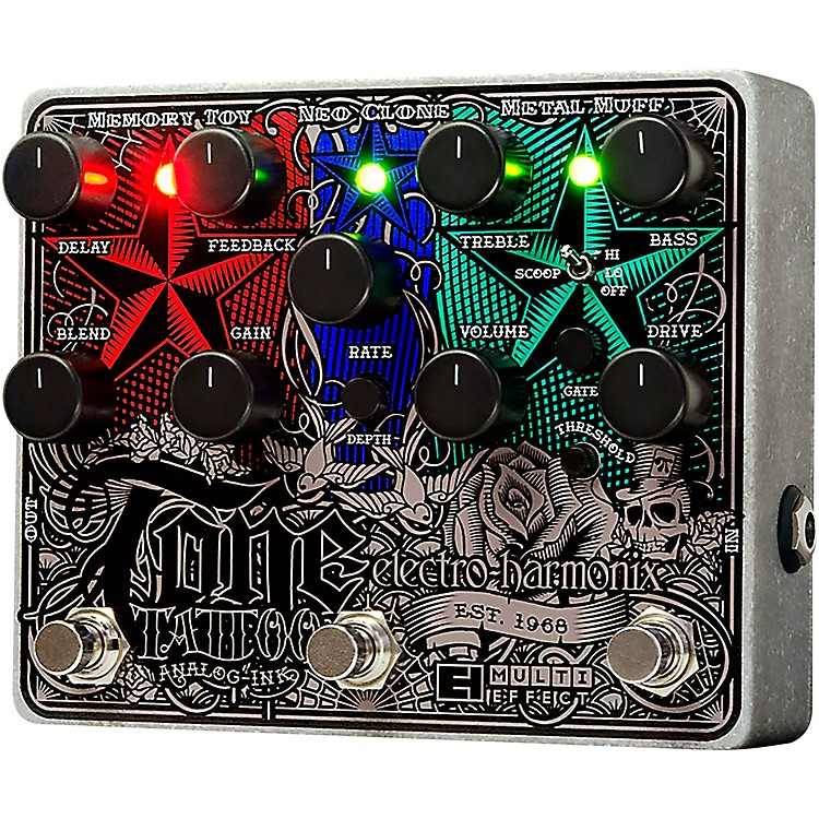 Electro-Harmonix Tone Tattoo Multi-Effects Guitar Pedal