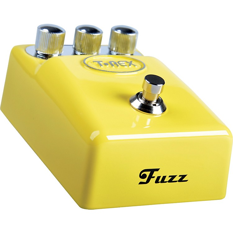 T-Rex Engineering ToneBug Fuzz Guitar Effects Pedal Yellow