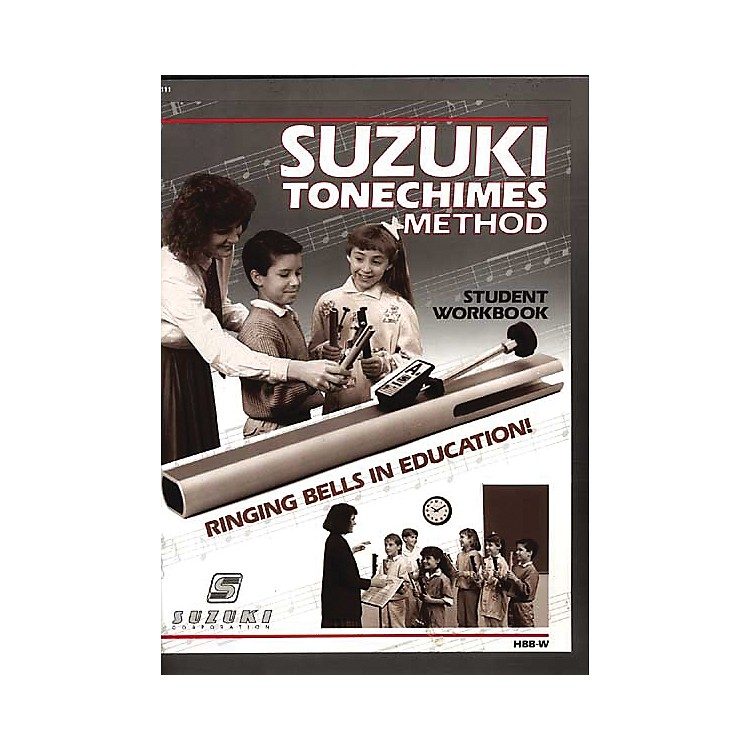 Suzuki ToneChimes Music Books Volume 1 to 5 Student Workbook