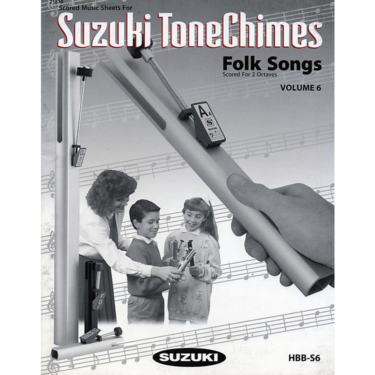 Suzuki ToneChimes Music Books Volume 6 to 13