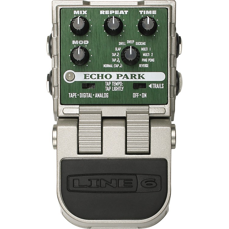 Line 6 ToneCore Echo Park Delay Guitar Effects Pedal