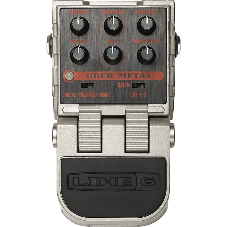 Line 6 ToneCore Uber Metal Distortion Pedal