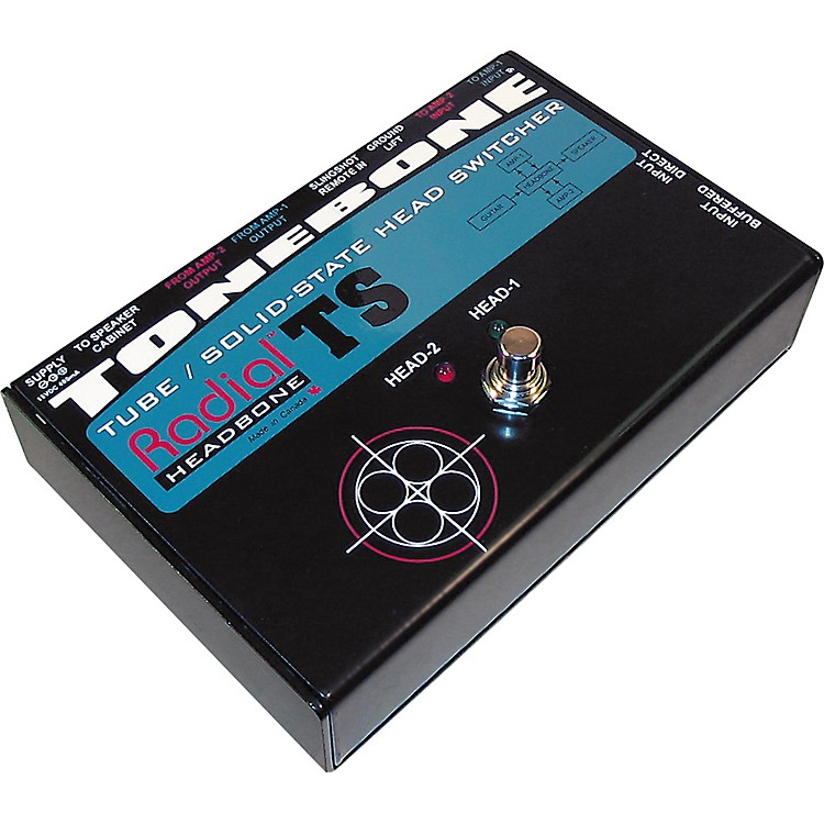Radial EngineeringTonebone Headbone TS Switcher for Tube to Solid State Amps