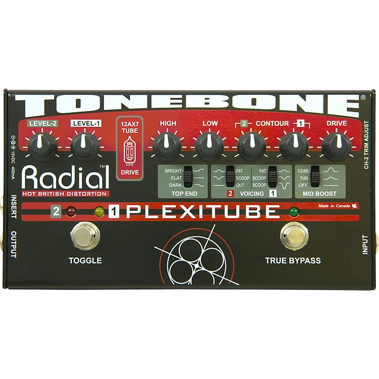Radial Engineering Tonebone Plexitube Distortion Pedal