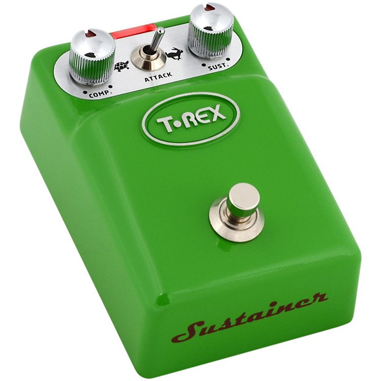 T-Rex Engineering Tonebug Sustainer Guitar Effects Pedal Green