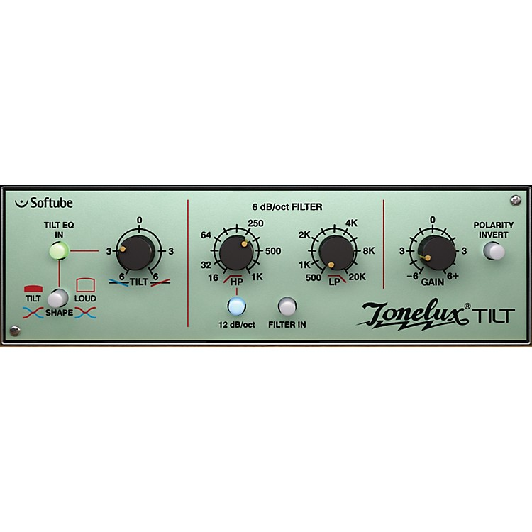 Softube Tonelux Tilt EQ Plug-in - TDM Software Download