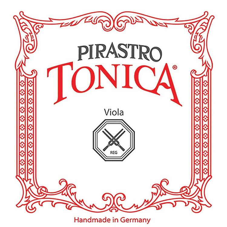 Pirastro Tonica Series Viola C String 16.5-16-15.5-15-in. Silver Weich