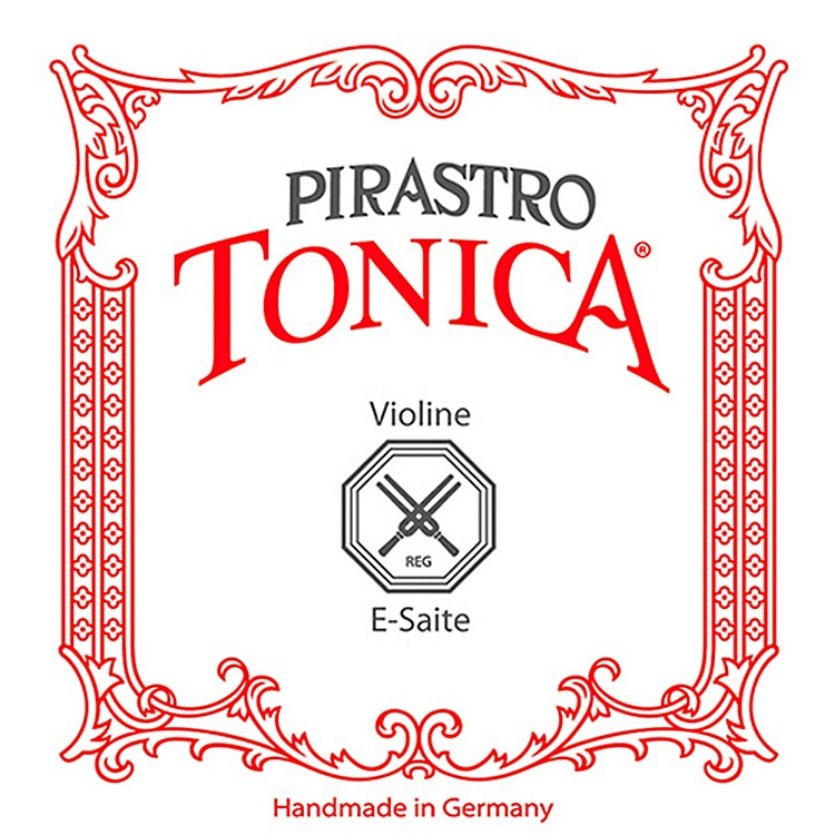 Pirastro Tonica Series Violin E String 4/4 Size Silvery Steel Medium Ball End