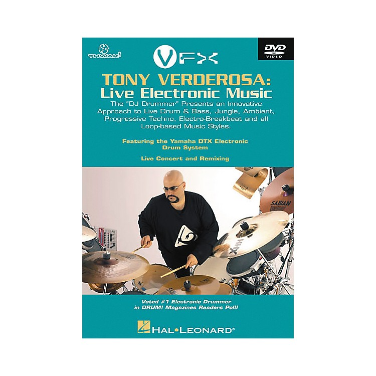 Hal LeonardTony Verderosa - Live Electronic Music (DVD)