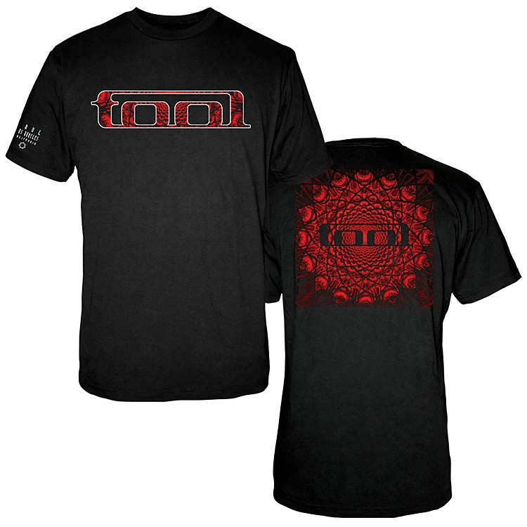 Fea Merchandising Tool - Red Pattern T-Shirt