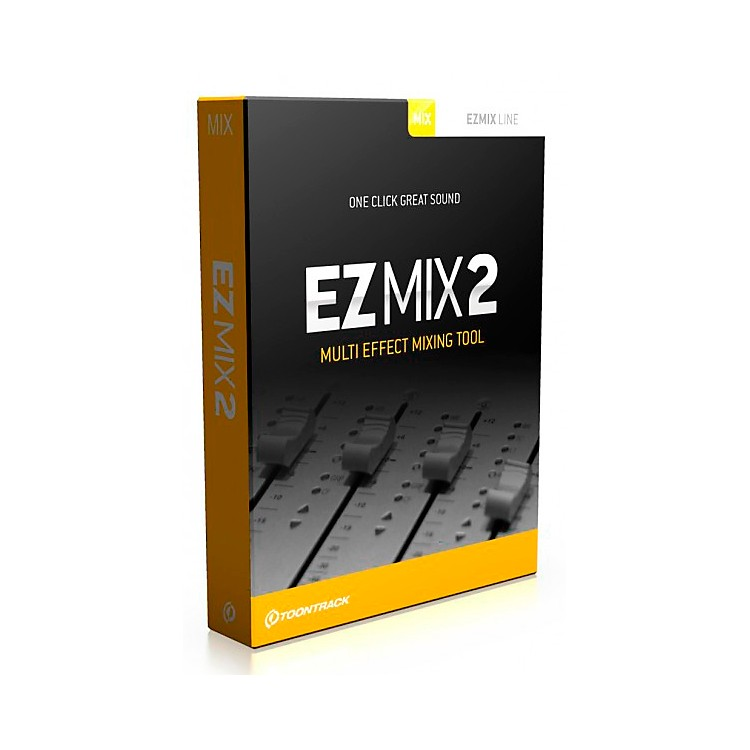 Toontrack Toontrack EZMix 2 Multi EFX Software Download