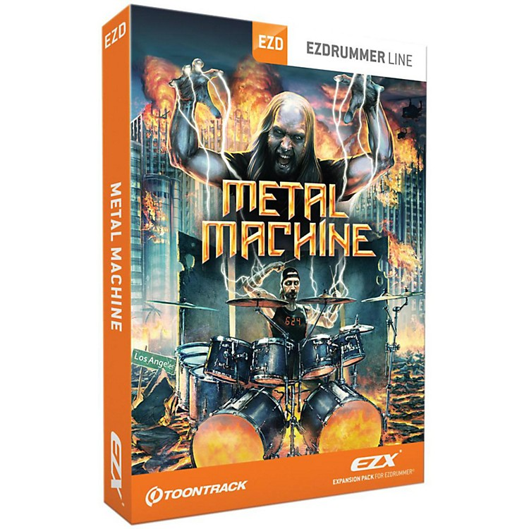 ToontrackToontrack Metal Machine EZX Software Download