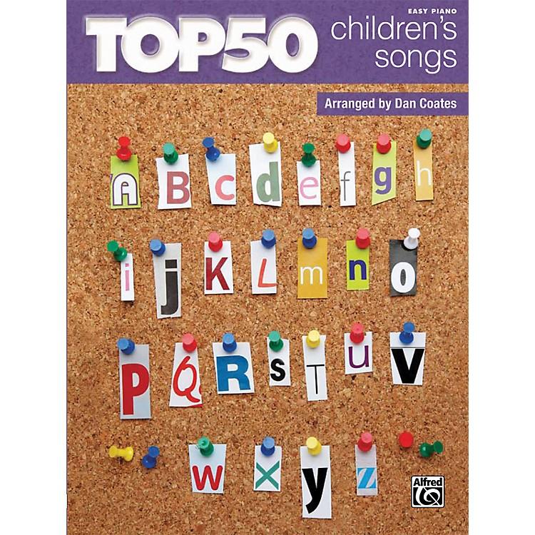 AlfredTop 50 Children's Songs Book