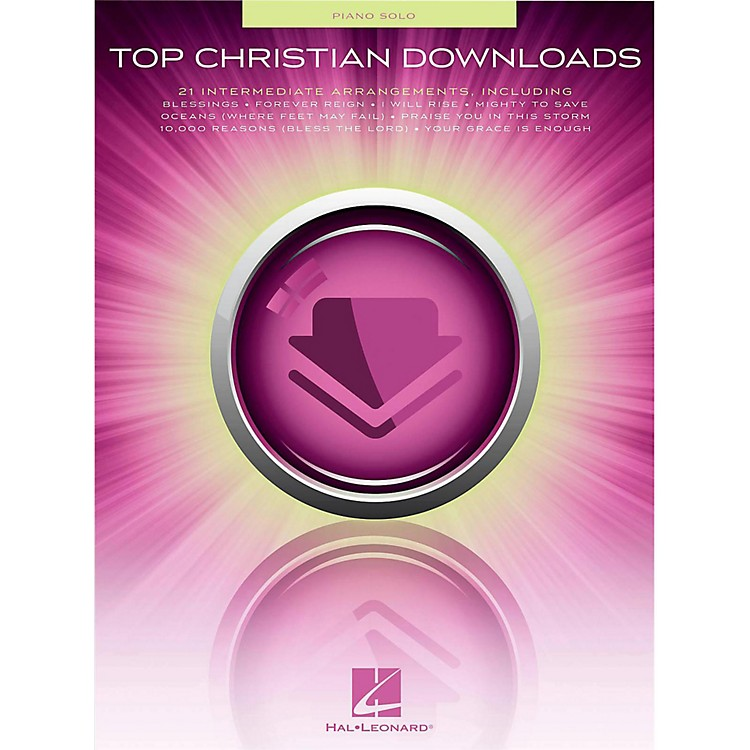 Hal Leonard Top Christian Downloads for Piano Solo