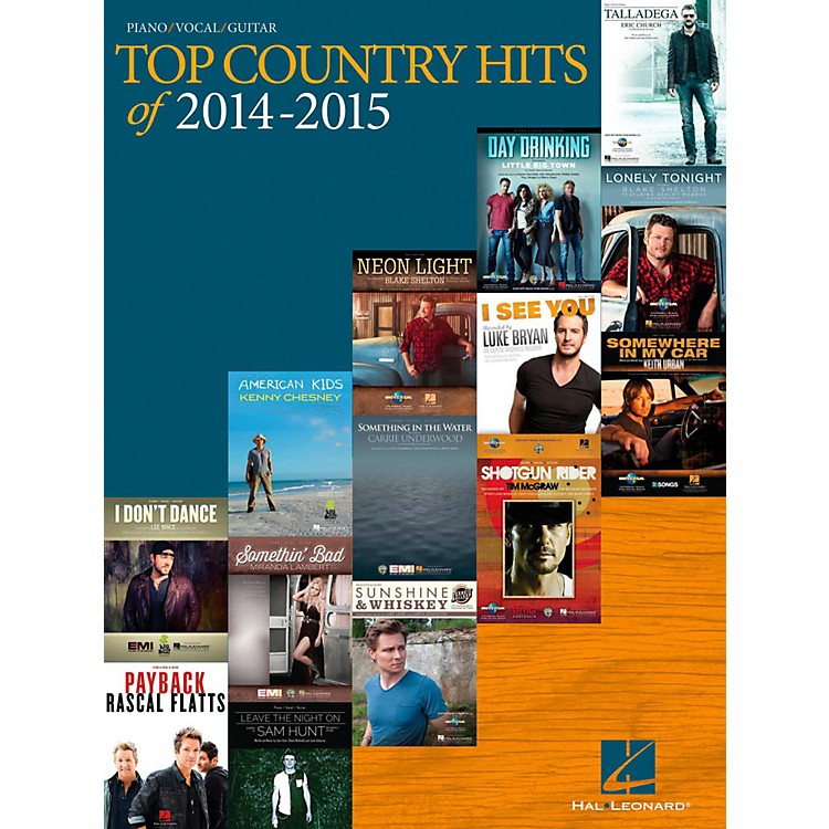 Hal Leonard Top Country Hits Of 2014-2015 for Piano/Vocal/Guitar