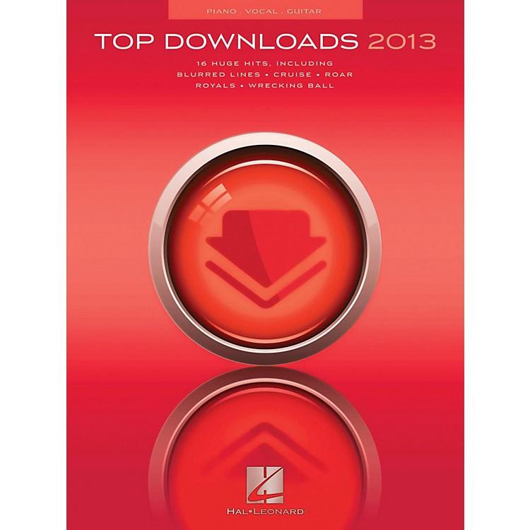 Hal LeonardTop Downloads Of 2013 for Piano/Vocal/Guitar