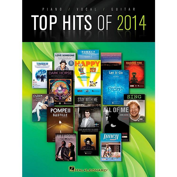 Hal LeonardTop Hits Of 2014 Piano/Vocal/Guitar
