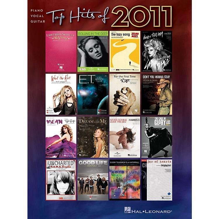 Hal LeonardTop Hits of 2011 Piano/Vocal/Guitar Songbook