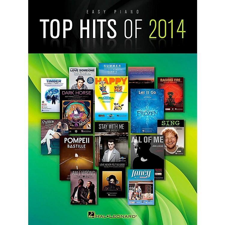 Hal LeonardTop Hits of 2014 for Easy Piano