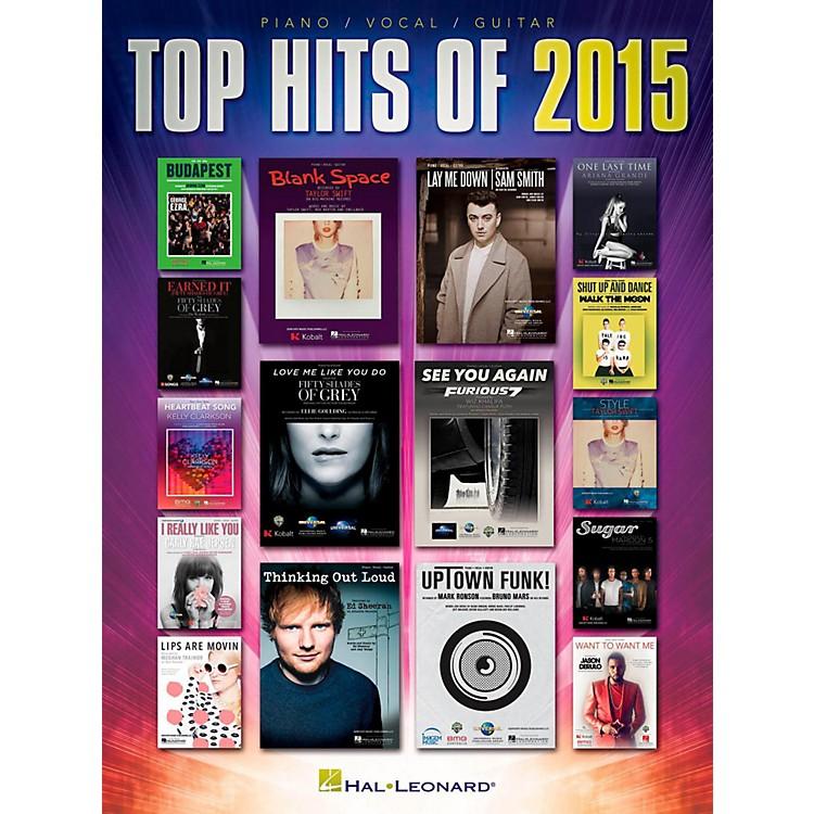 Hal LeonardTop Hits of 2015 for Piano/Vocal/Guitar