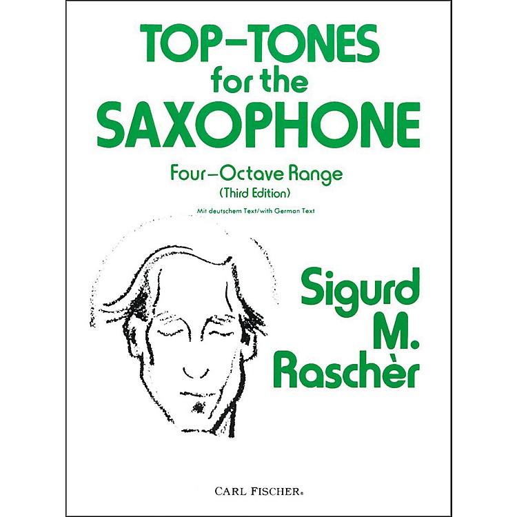 Carl FischerTop-Tones For The Saxophone