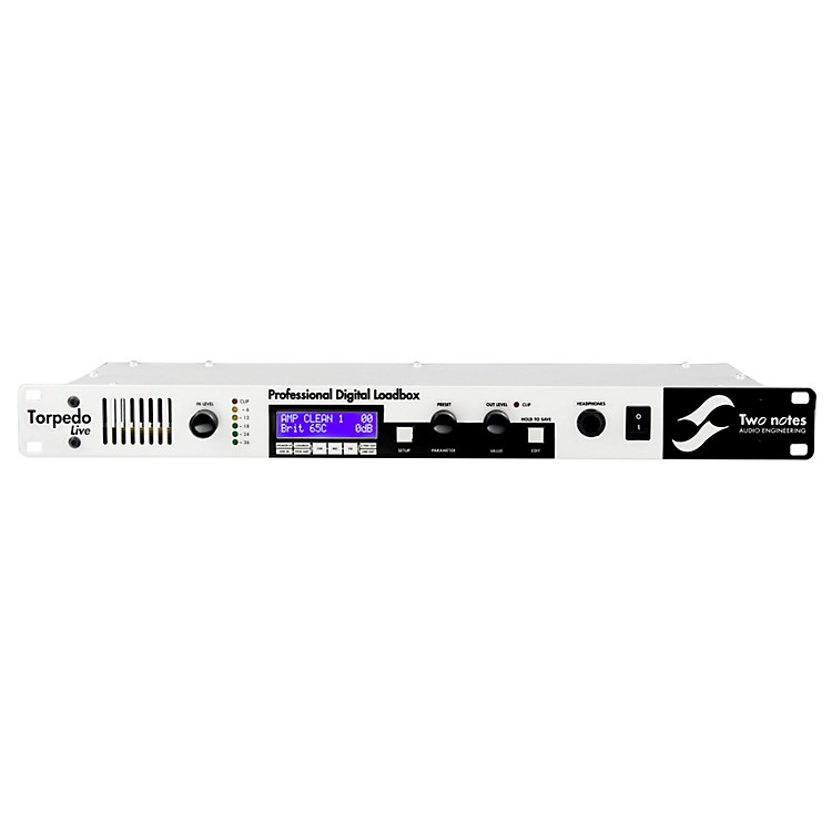 Two Notes Audio Engineering Torpedo Live Digital Loadbox/ Speaker Simulator