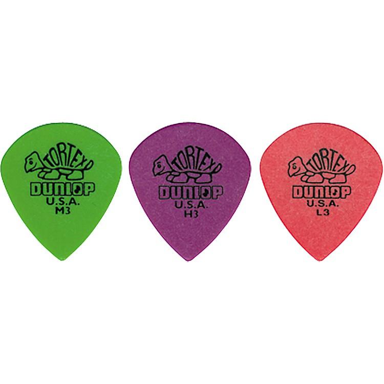 DunlopTortex Jazz Guitar PickThin3 Dozen