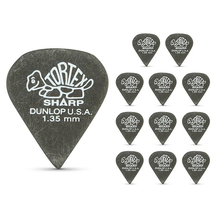 DunlopTortex Sharp Guitar Picks 1 Dozen1.35 mm