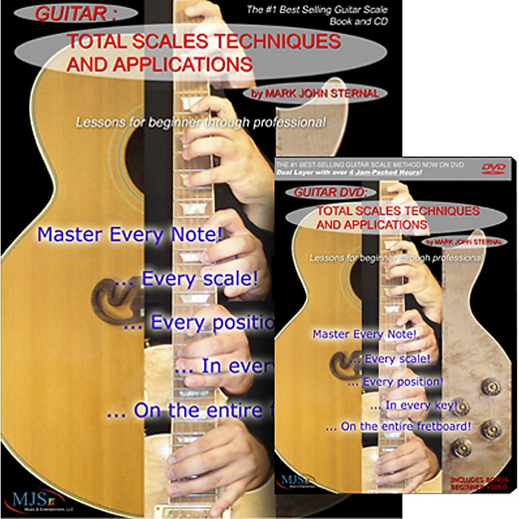MJS Music PublicationsTotal Scales Techniques And Applications DVD, Book, and CD Set