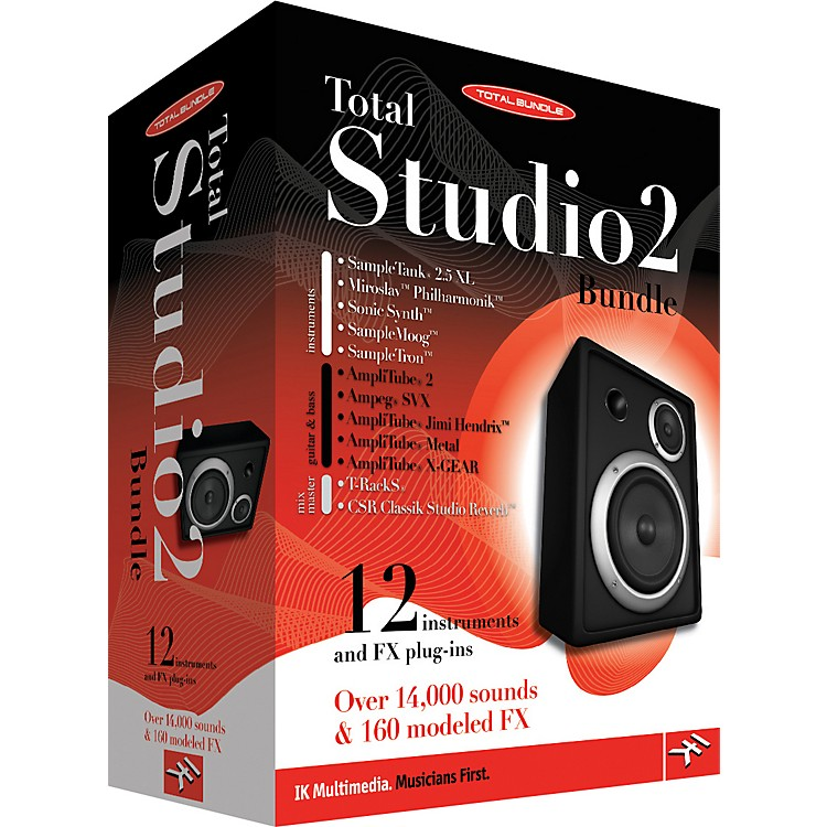 IK Multimedia Total Studio 2 Composition & Recording Software Bundle