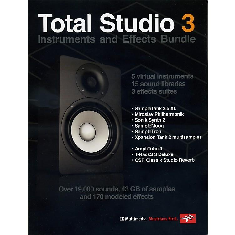 IK MultimediaTotal Studio 3 Software Instruments and Effects Bundle