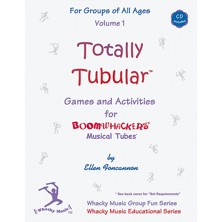BOOMWHACKERS Totally Tubular Volume 1 Book/CD