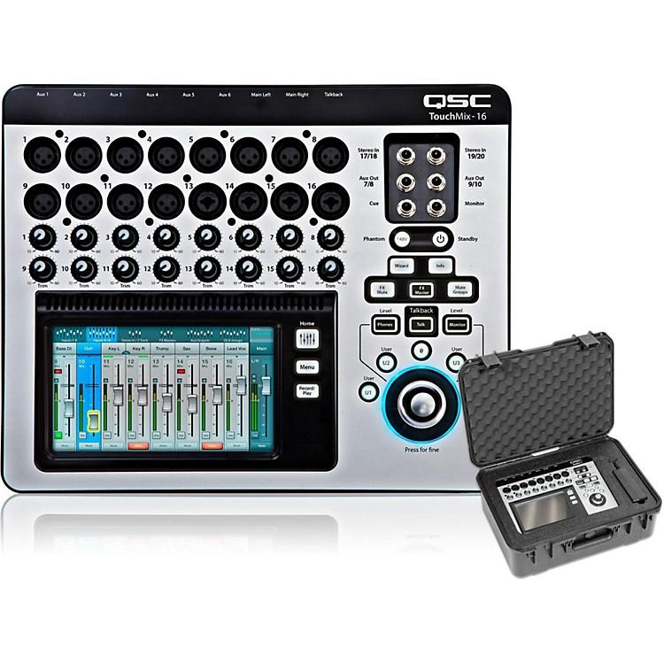 QSCTouchMix-16 Compact Digital Mixer with Case