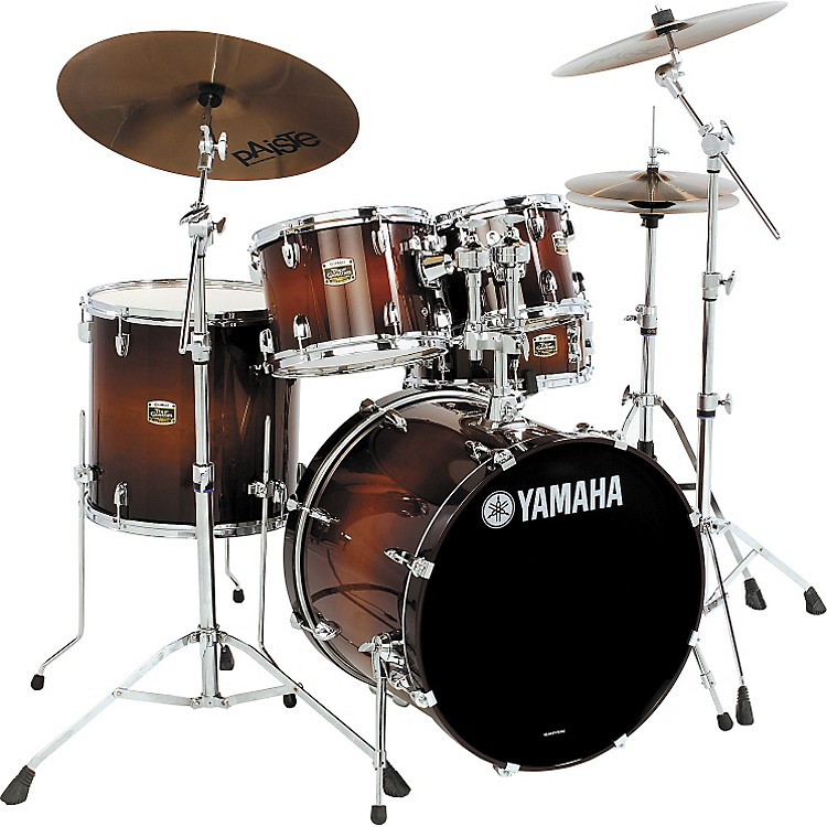 yamaha tour custom 5 piece fusion floor drum set music123. Black Bedroom Furniture Sets. Home Design Ideas