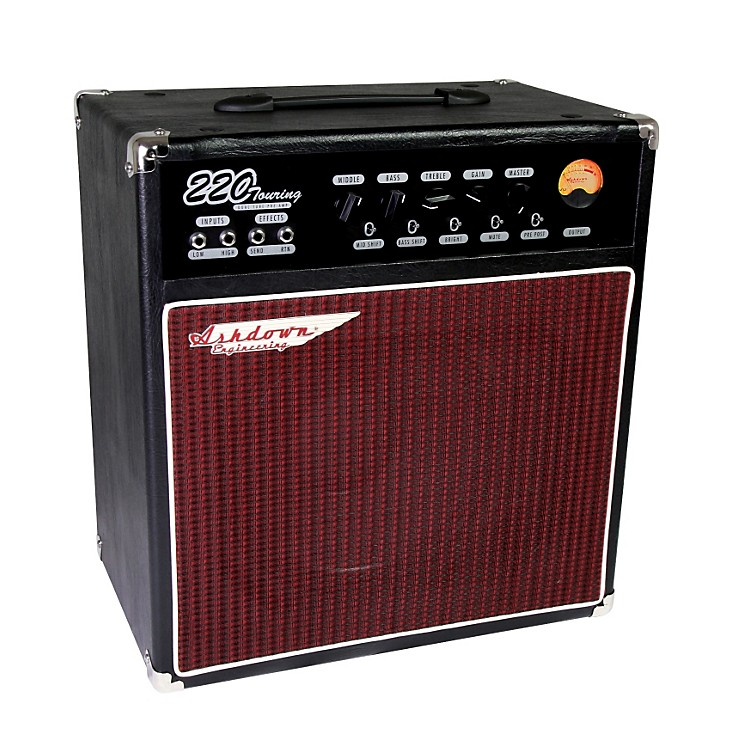 Ashdown Touring 220W 1x12 Tube Pre Bass Combo Amp