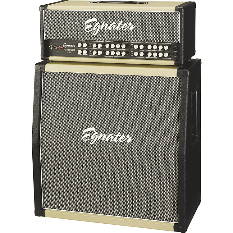 EgnaterTourmaster 4100 Guitar Amp Head and Tourmaster 412A 280W 4x12 Guitar Extension Cabinet