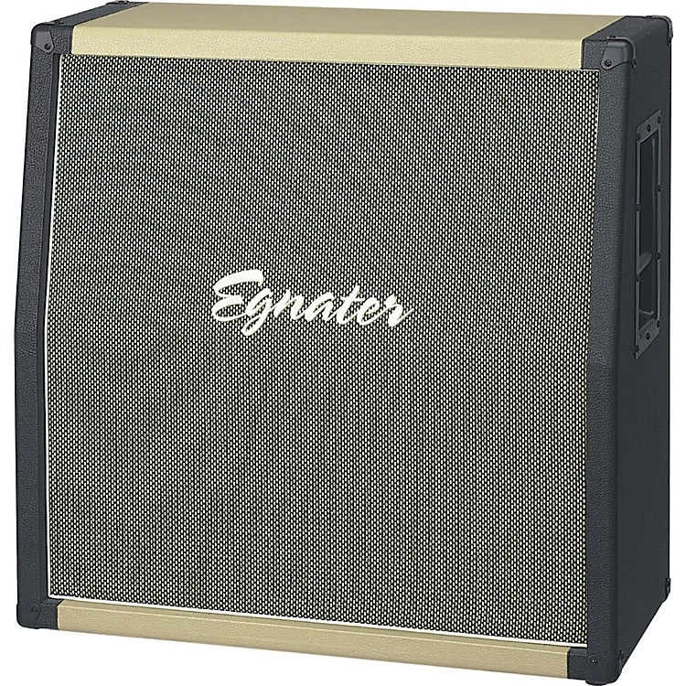 Egnater Tourmaster Series 412A or 412B 280W 4x12 Guitar Speaker Cabinet Black/Beige Slant
