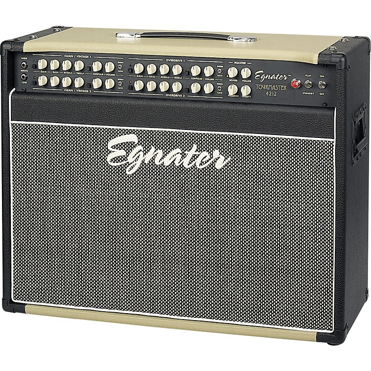 Egnater Tourmaster Series 4212 All-Tube Guitar Combo Amp Black, Beige