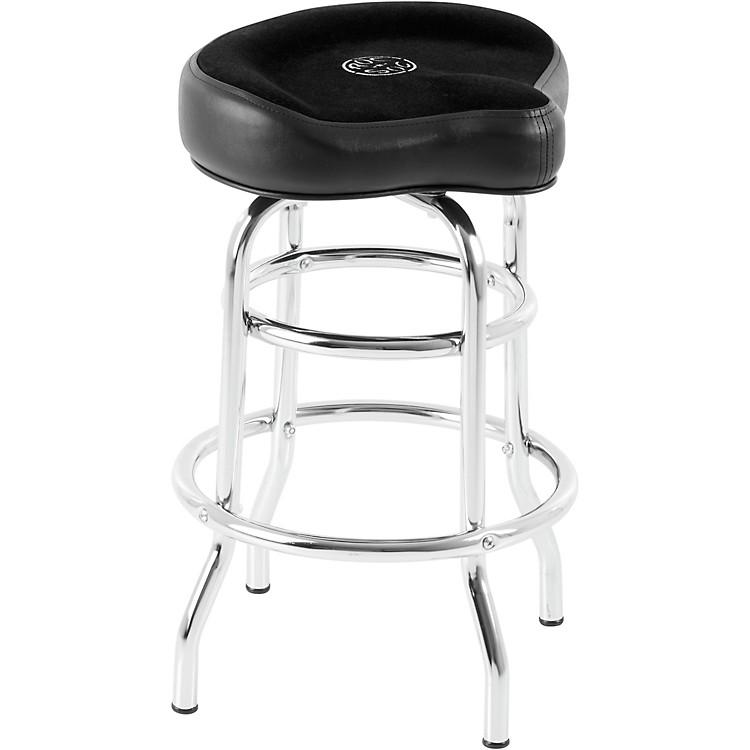 Roc N Soc Tower Saddle Seat Stool Black Short Music123