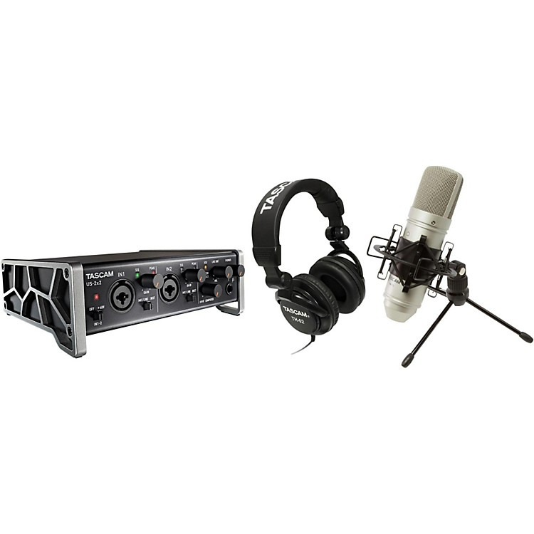 TascamTrackPack 2x2 Complete Recording Studio for Mac/Windows