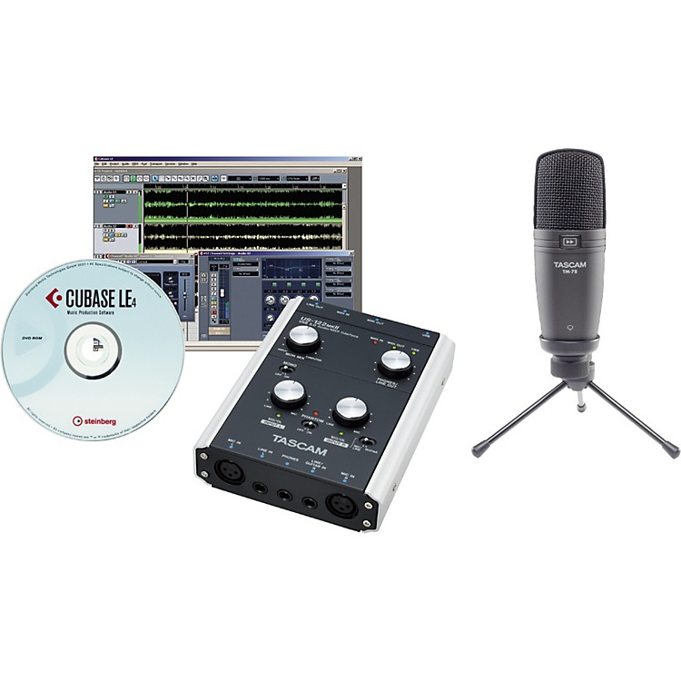 TASCAM TrackPack X2 Bundle with US-122MKI