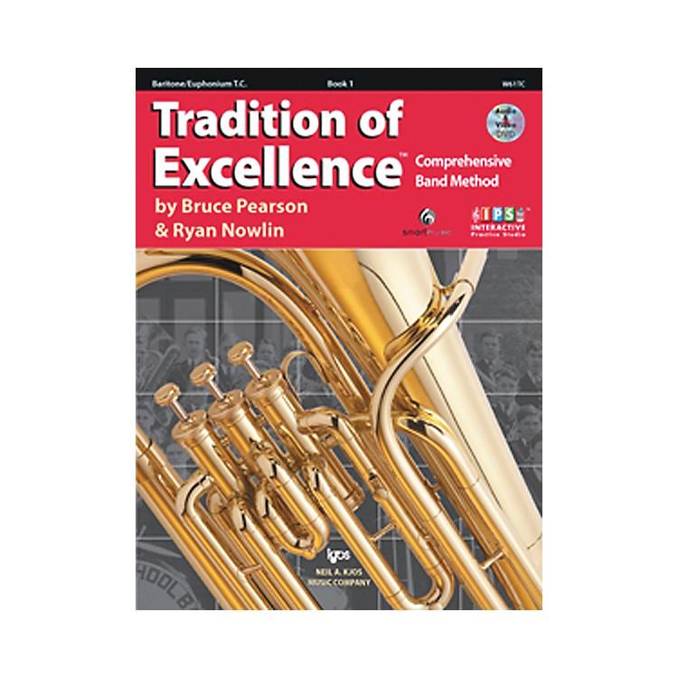 KJOSTradition Of Excellence Book 1 for Baritone Tc
