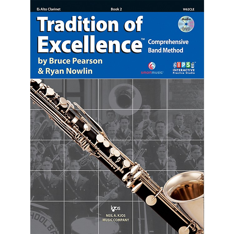 KJOSTradition Of Excellence Book 2 for Alto Clarinet