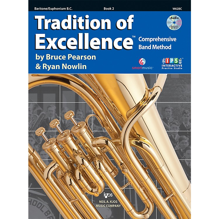KJOSTradition Of Excellence Book 2 for Baritone BC