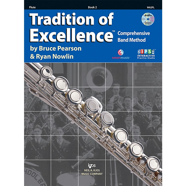 KJOSTradition Of Excellence Book 2 for Flute