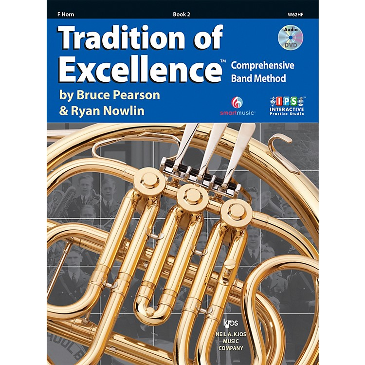 KJOSTradition Of Excellence Book 2 for French Horn