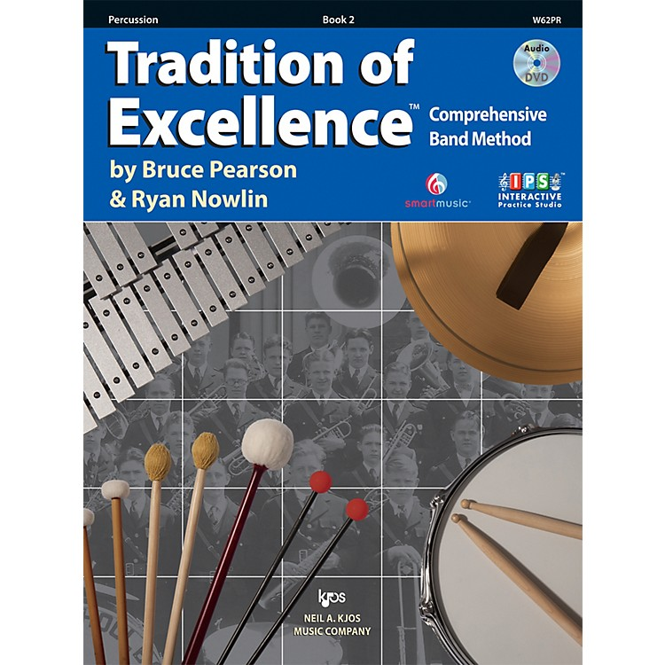 KJOSTradition Of Excellence Book 2 for Percussion